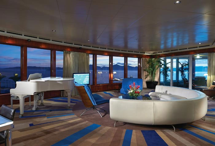 Largest Suites at Sea